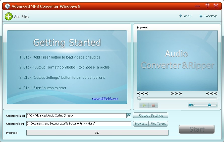 Advanced MP3 Converter Windows 8 1.1 full
